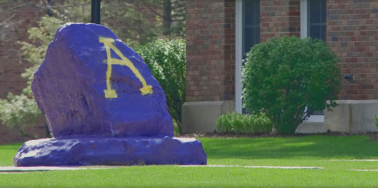 Albion College Rock