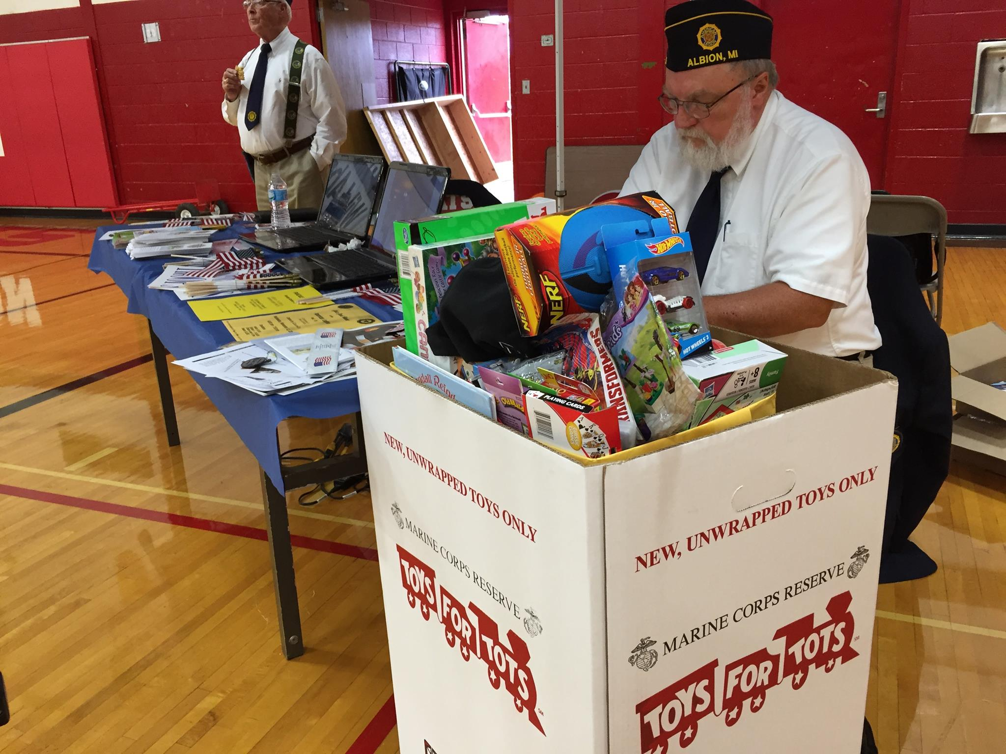 American Legion 2017 Toys For Tots : American legion toys for tots albion michigan