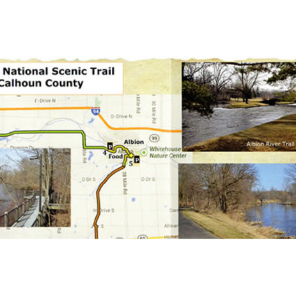 North Country Trail in Calhoun County