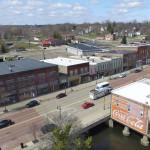 aerial_view_coke_mural_albion_michigan