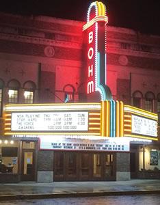 Bohm Theatre, Albion Michigan