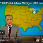 Earth Day in Albion Michigan, Walter Cronkite