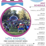 Swingin' at the Shell 2017 music series