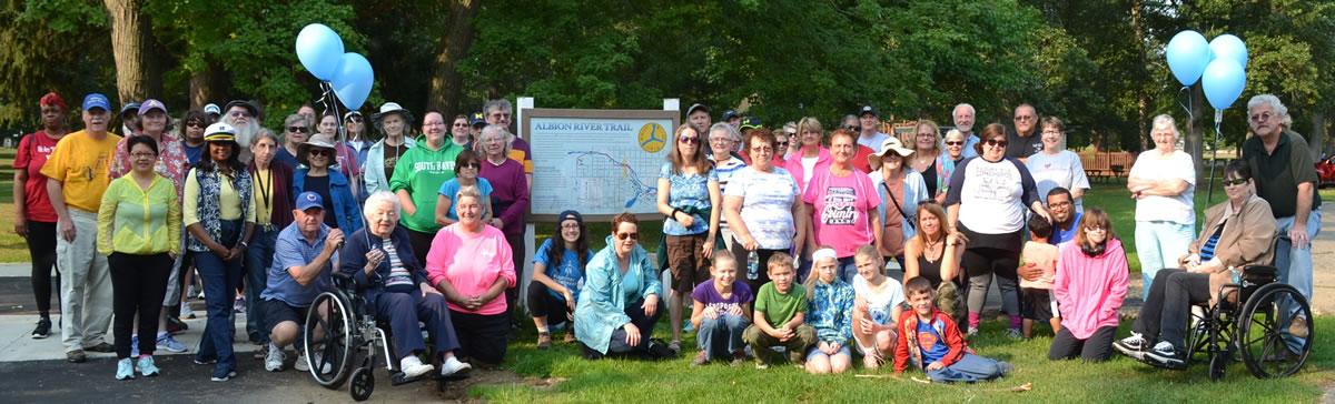 Labor Day Walk the Trail Albion Michigan