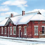 Albion Train Depot