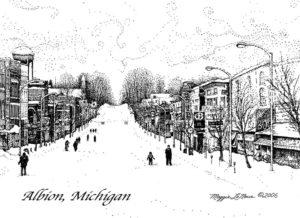 Superior Street, Albion, January 2018