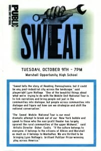 New York Public Theatre brings Sweat to Albion