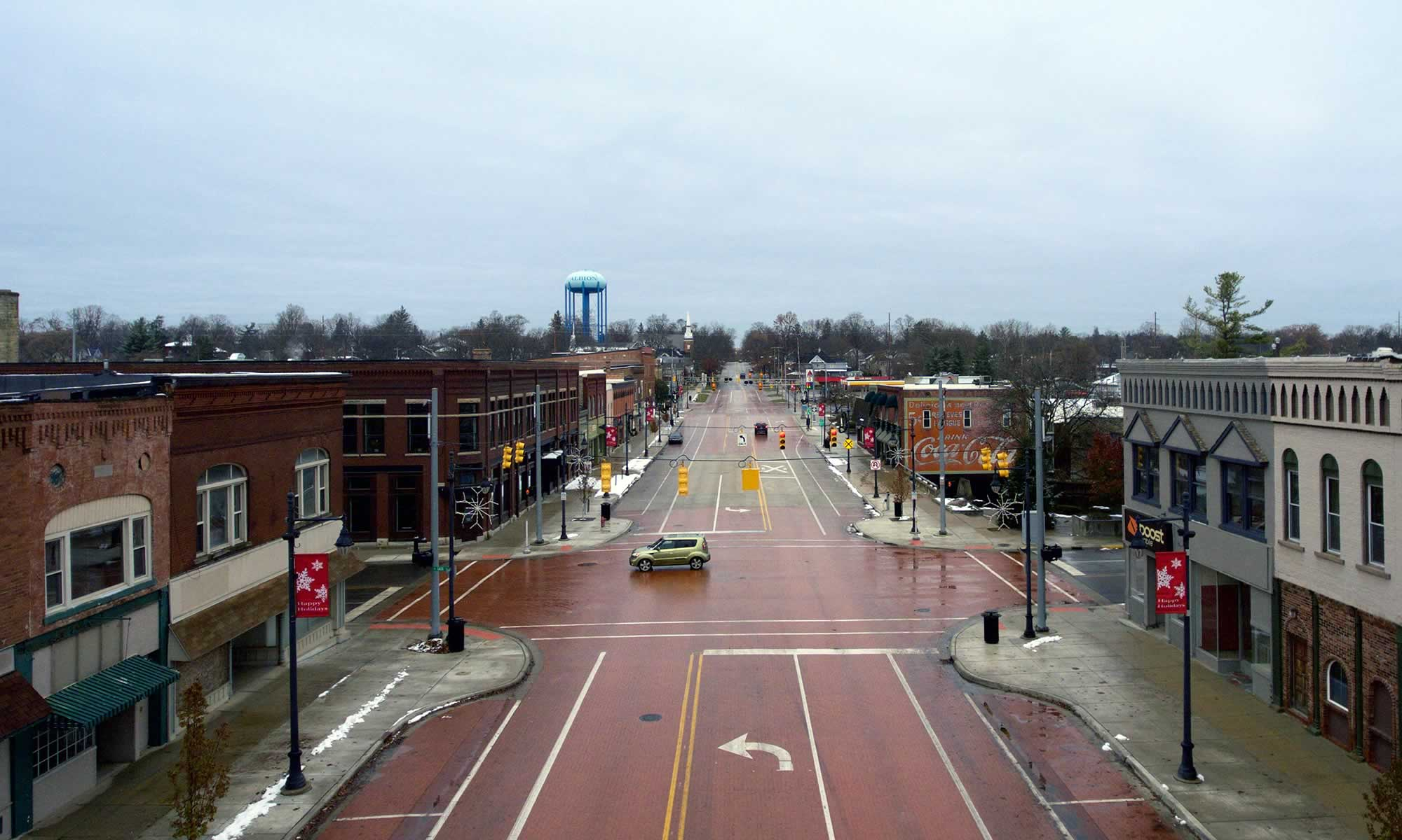 Albion, Michigan - General Guide to Arts and Trails