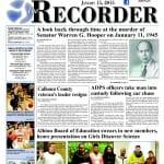 History from the Recorder - the Murder of Senator Hooper