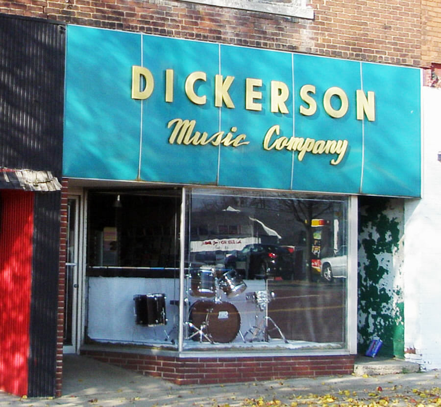 Dickerson Music Co.  Historic Business Profile