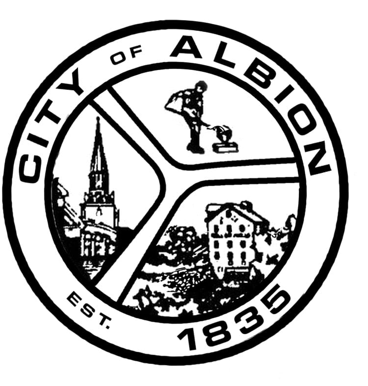 City of Albion Michigan official seal