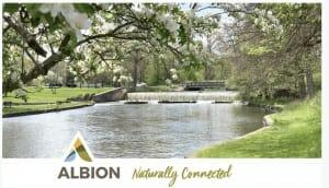 Albion Michigan Branding 2019