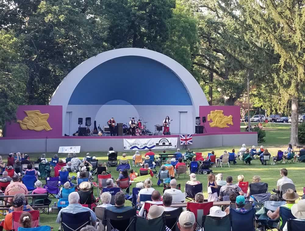 The Invasion - Swingin' at the Shell July 28, 2019