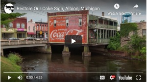 Coca-Cola Mural Announcement