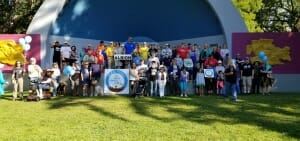 Labor Day Albion Walk the Trail - Albion Michigan 2019