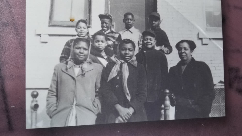 Students at West Ward School, Albion