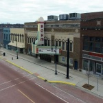 Downtown Albion March 16, 2020