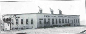 UNION STEEL ORIGINALLY LOCATED JUST WEST OF DOWNTOWN ALBION  - by Frank Passic