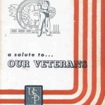 A UNION STEEL PRODUCTS SALUTE TO VETERANS - by Frank Passic