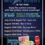 Summer 2020 Free Movies & Music