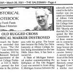 Old Rugged Cross Marker Fundraiser