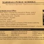 Marshall School Bus information