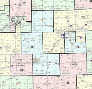 State of Michigan Senate District 19