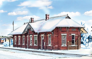 Albion Train Depot - Mowrer Agency