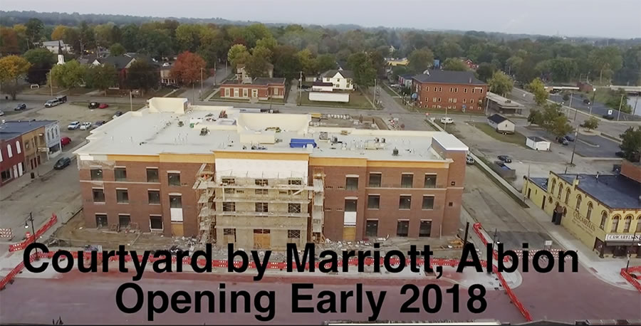 Courtyard by Marriott, Albion opening date information