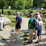 Labor Day Albion - Tour of History Hill in Holland Park