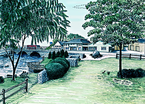 Lloyd Park, Albion, Michigan