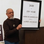 Robert Wall gives Black History Month talk at AAUW meeting