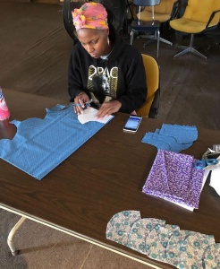 How one Albion man is making a difference: Sewing face masks to help people feel better