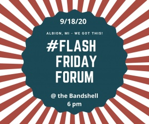 FLASH FRIDAY FORUM INVITE